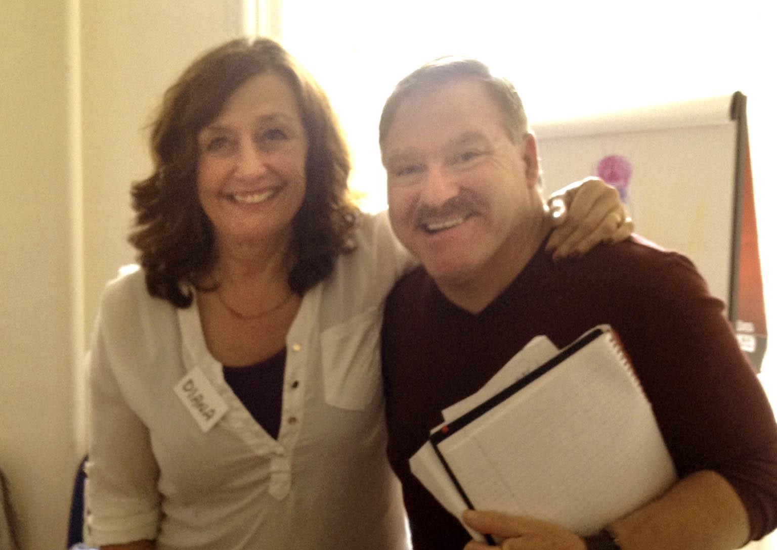 Diana with James Van Praagh - Edinborugh